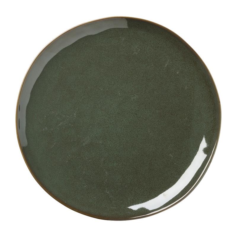 Dinerbord Toscane - groen - 28 cm