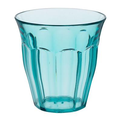 Beker met facetten - 22. 5 cl - blauw
