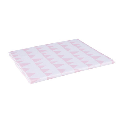 Tafelkleed vlaggetjes - 220x150 cm - roze