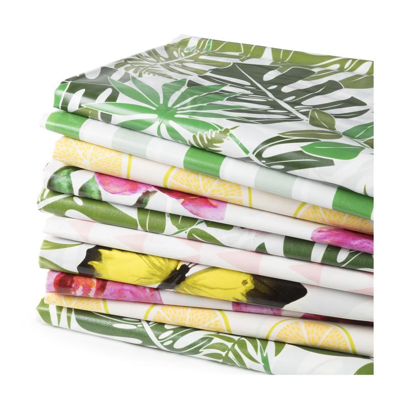 Tafelkleed strepen - 220x150 cm - groen