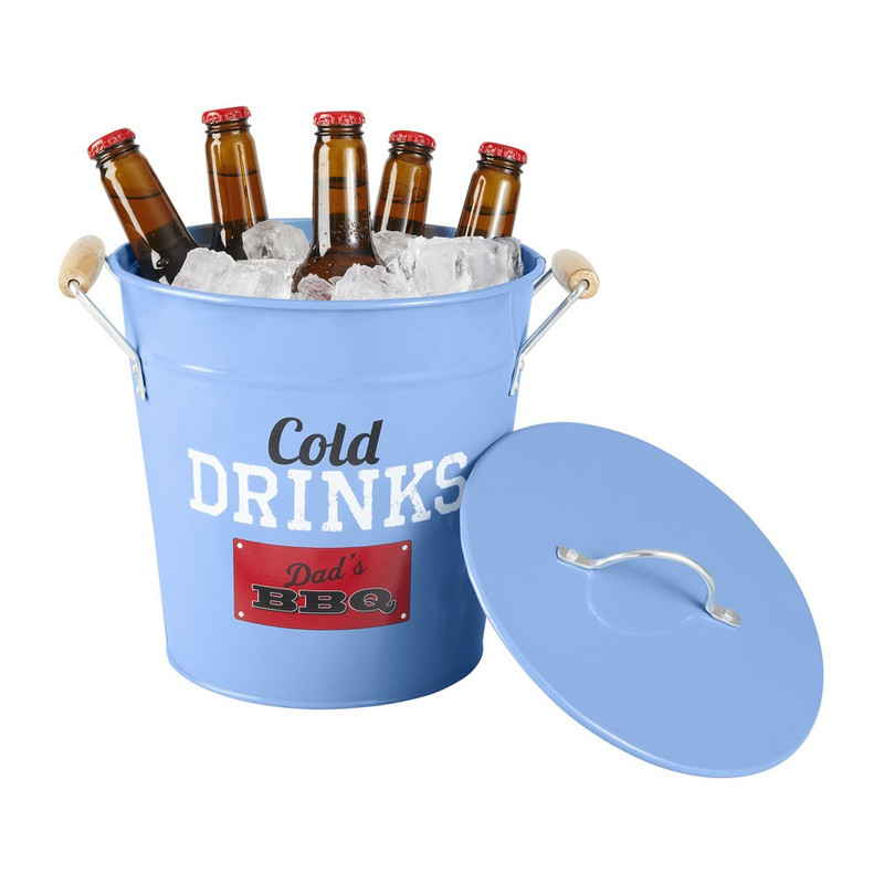 Cold drinks bucket Dad's BBQ