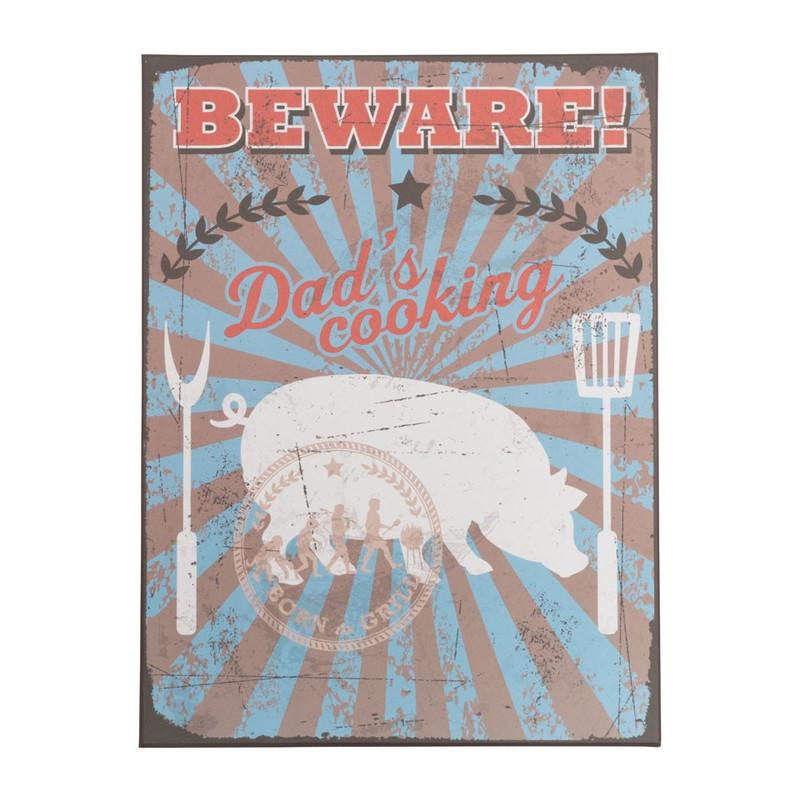 Decobord Dad's BBQ - Beware