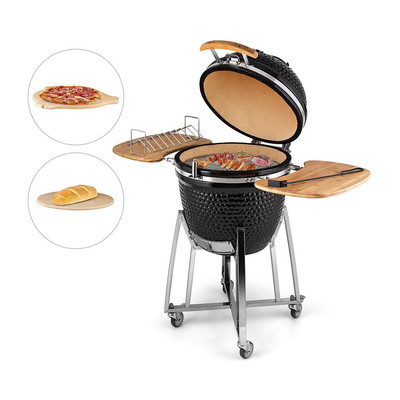 Kamado grill XL - family-size - 45x112 cm