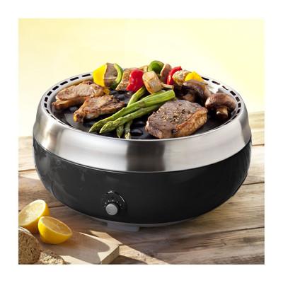 Grillerette deluxe BBQ - zwart
