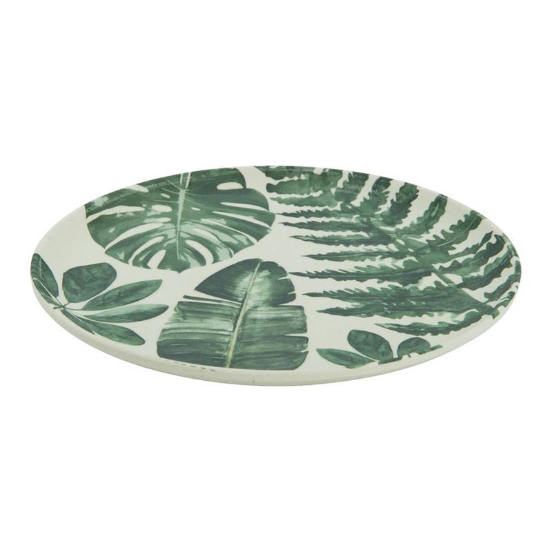 Bord palmblad - 18 cm