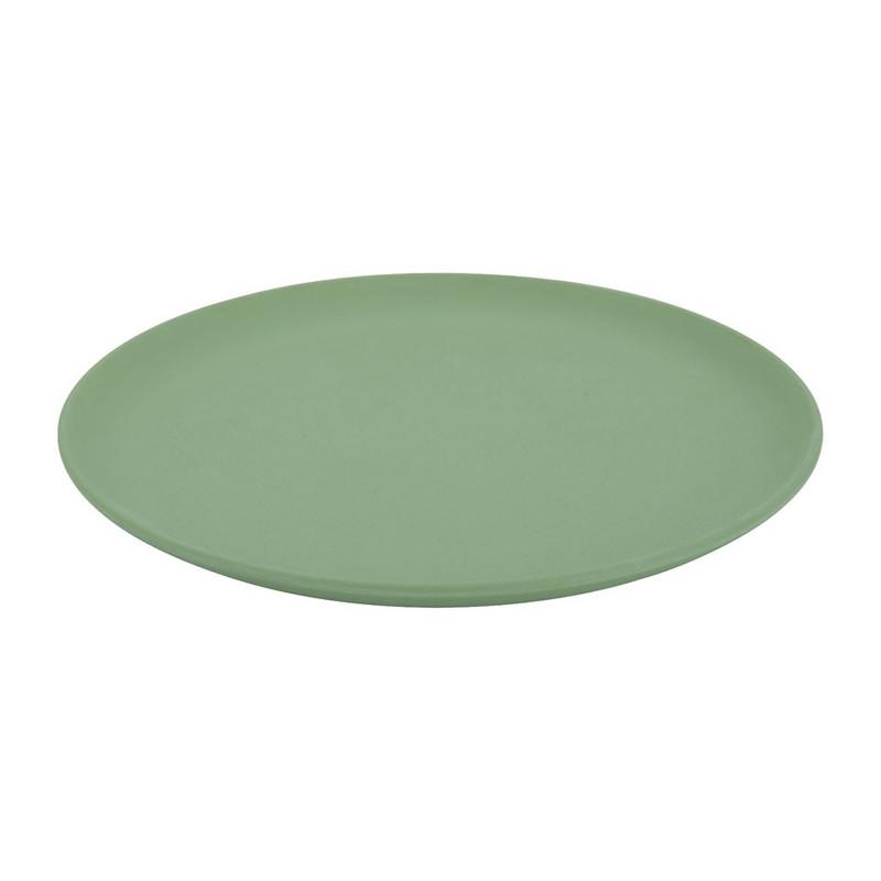 Bord - 18 cm - groen