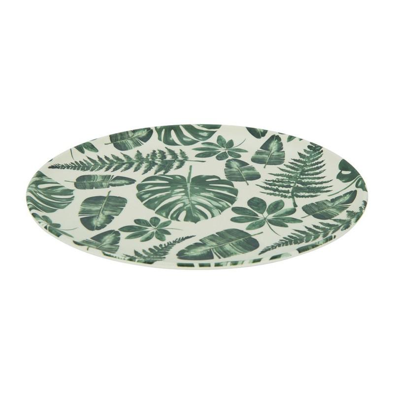 Bord palmblad - 23 cm