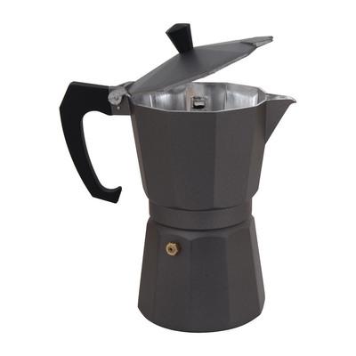 Espressomaker 6-kops - donkergrijs