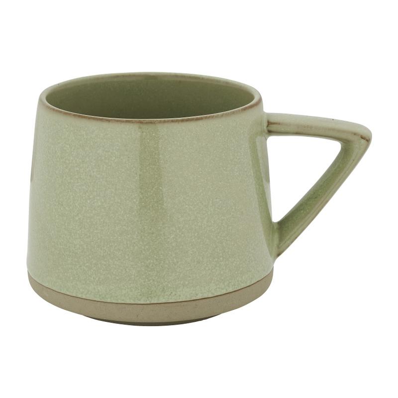 Mok conisch laag - groen - 30 cl