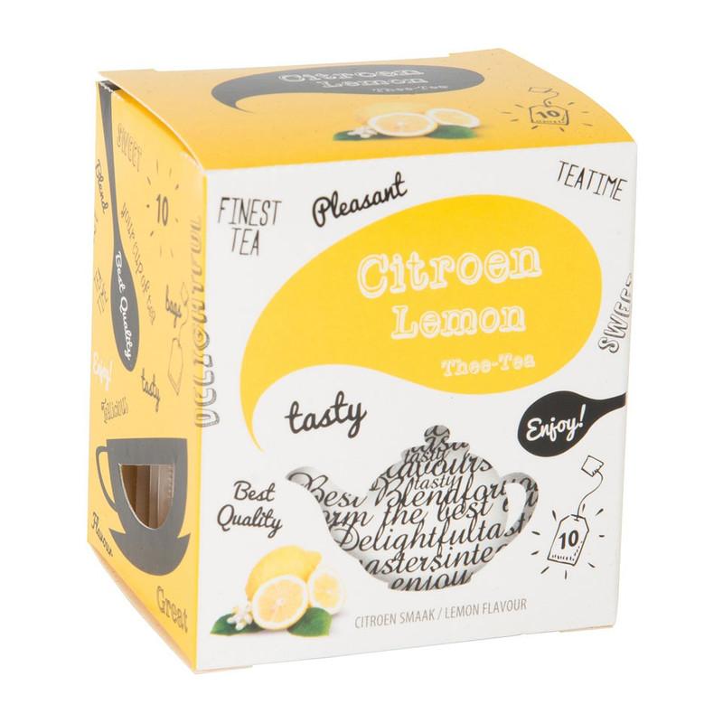 Thee citroen 10 zakjes