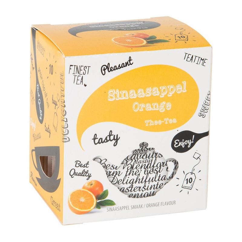 Thee sinaasappel 10 zakjes