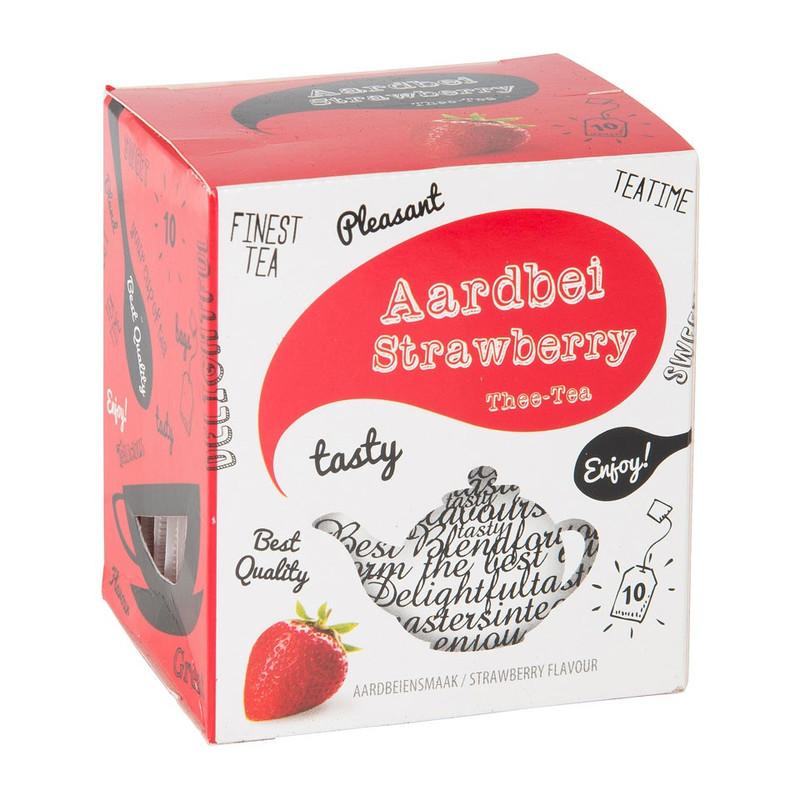 Thee aardbeien 10 zakjes