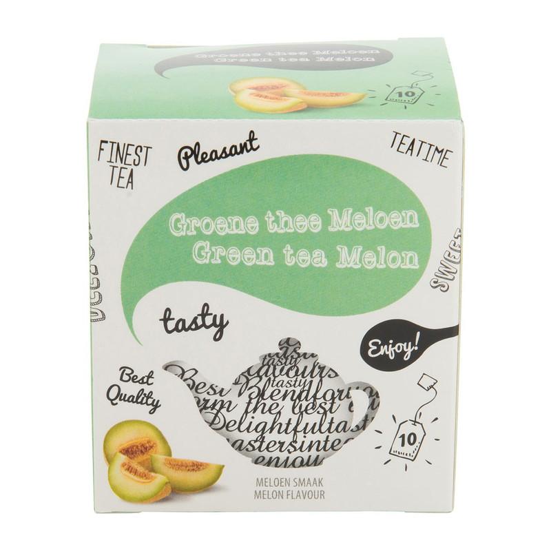 Groene thee meloen 10 zakjes
