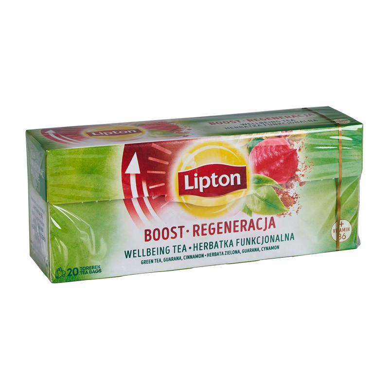 Lipton thee boost 20 zakjes