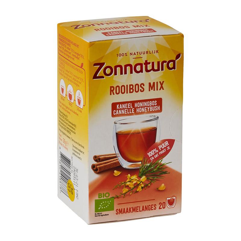 Zonnatura rooibos mix thee 20 zakjes