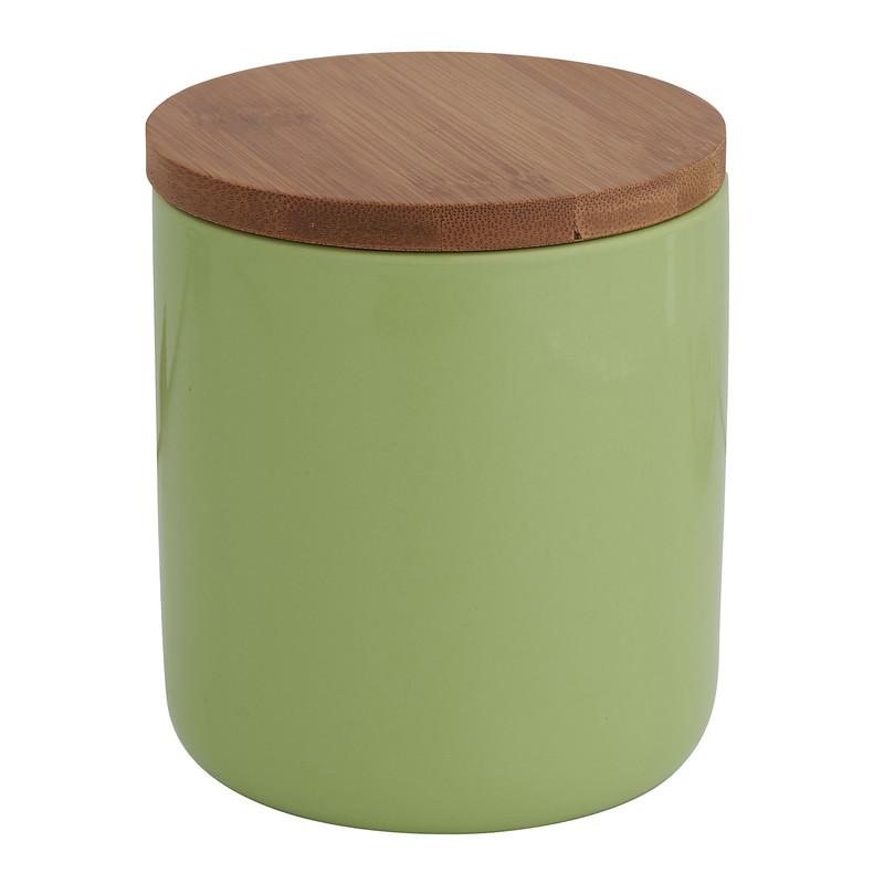 Voorraadpot bamboe groen 600 ml