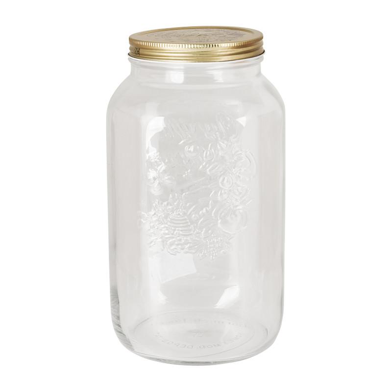 Conserverenpot Quattro Stagioni - 3,8 liter