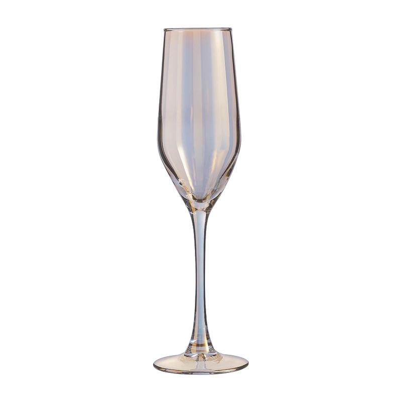 Champagneglazen goud - 16 cl - set van 4