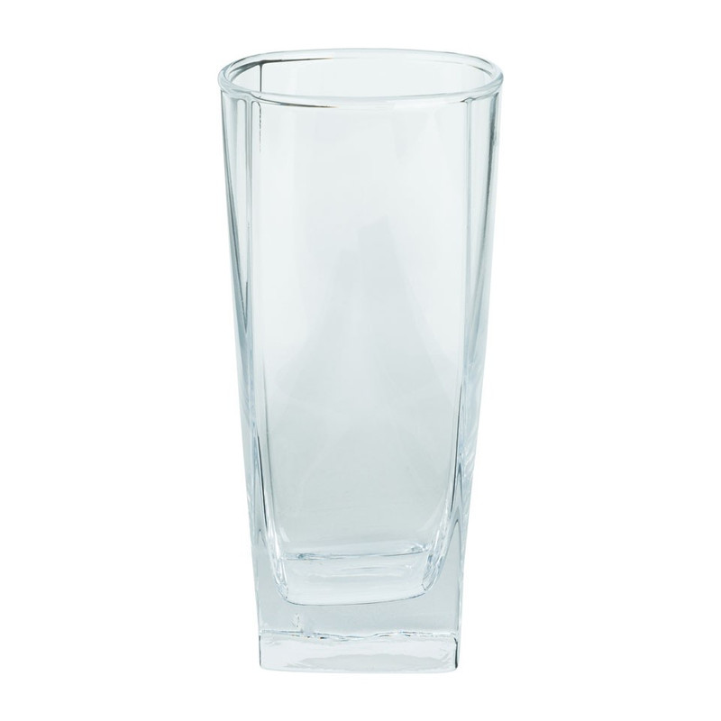 Longdrinkglas vierkant - 33 cl