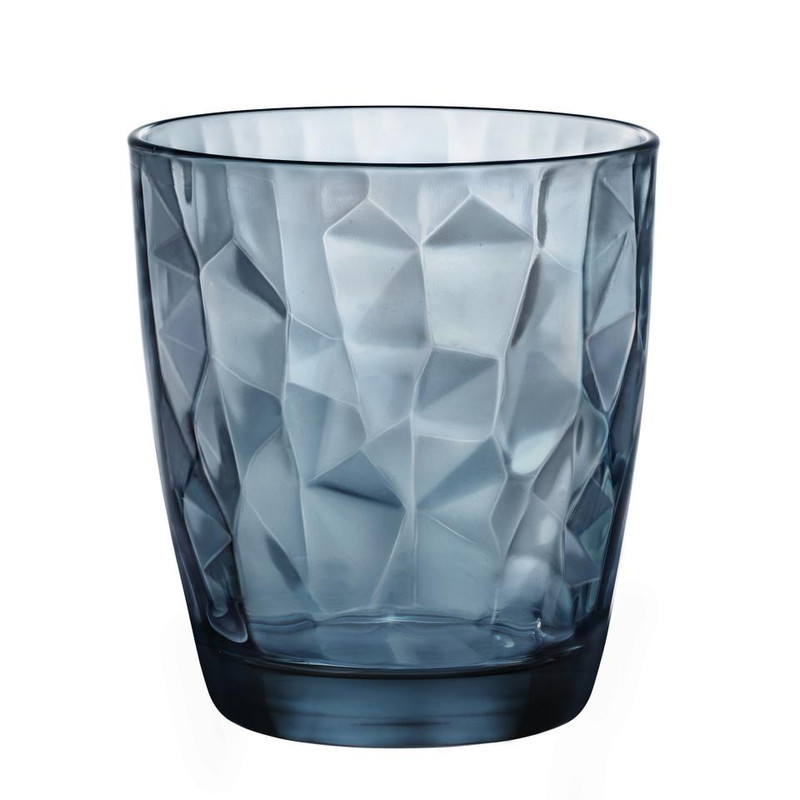 Sapglas diamond - 39 cl - blauw