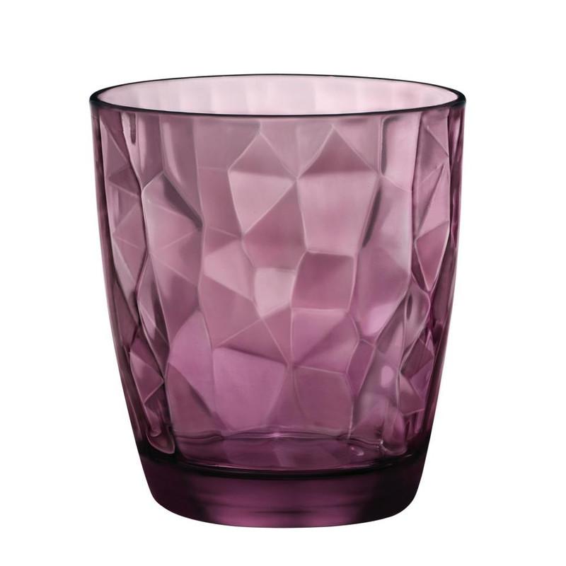 Sapglas diamond - 39 cl - paars