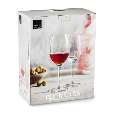 Wijnglazen Kenza - 33 cl en 40 cl - set van 12