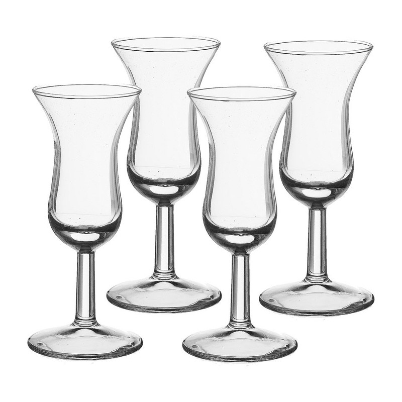 Borrelglas Roemer - 5 cl -  set van 4