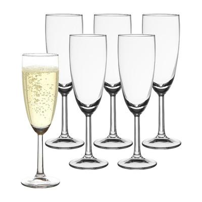 Champagneglas - 16 cl - set van 6