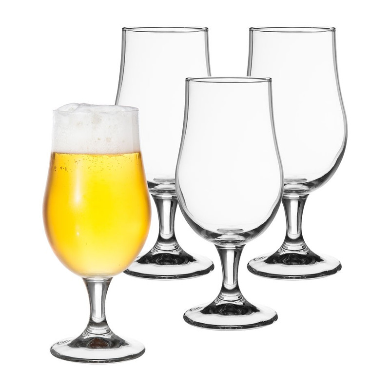 Bierglas - 40 cl - set van 4
