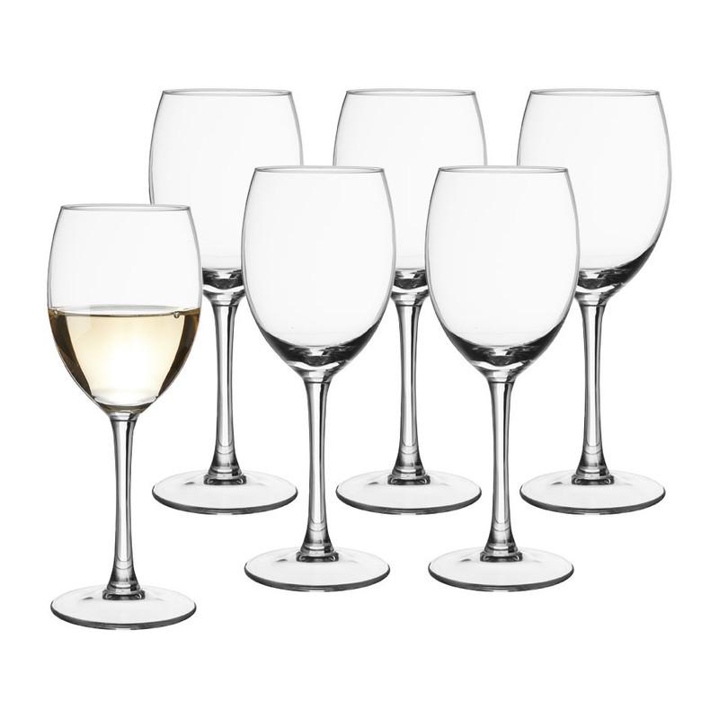 Wijnglas - 26 cl - set van 6