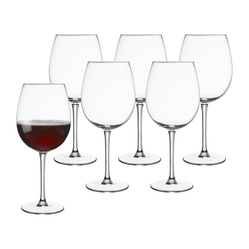 Wijnglazen capitol - 62 cl - set van 6