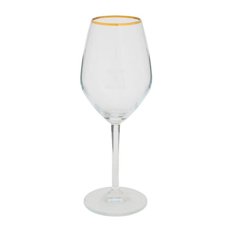 Ritzenhoff wijnglas gouden rand - 35 cl