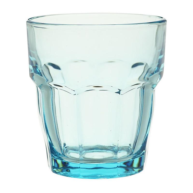 Glas rockbar - 27 cl - blauw