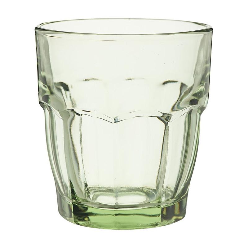Glas rockbar - 27 cl - groen