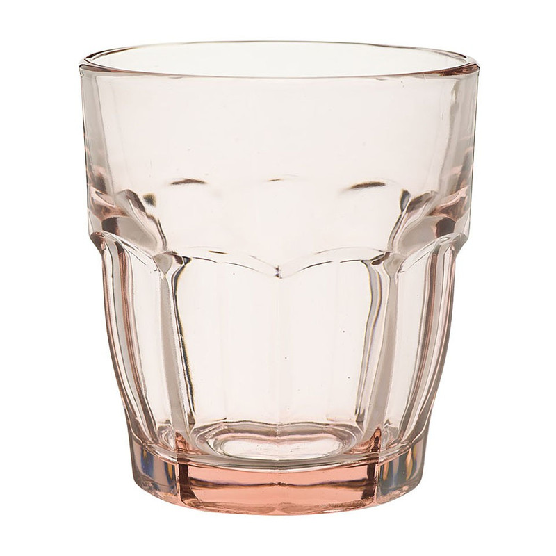 Glas rockbar - 27 cl - roze
