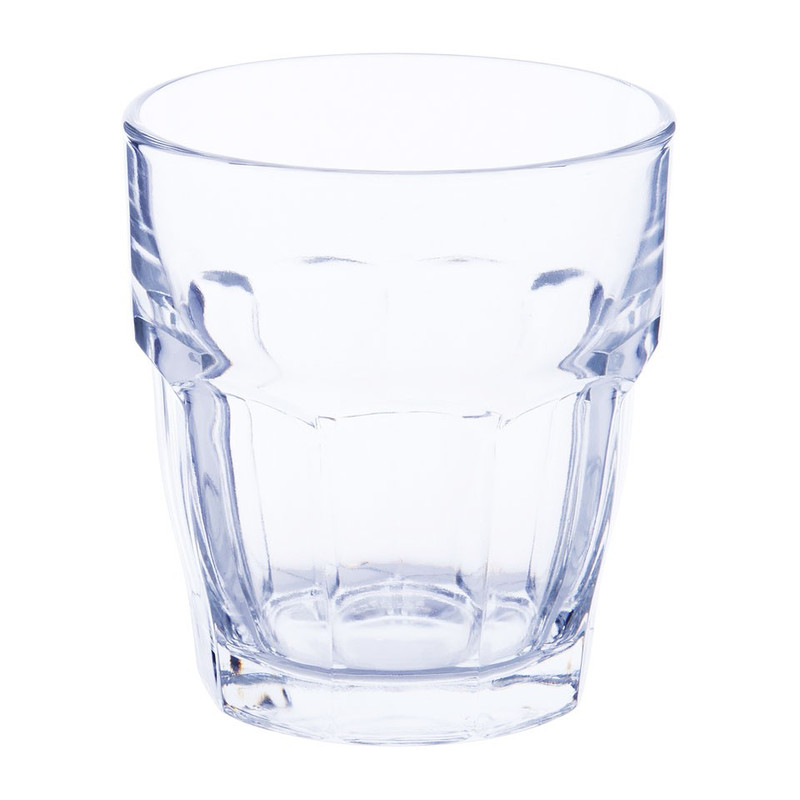 Glas rock bar - 27 cl - transparant