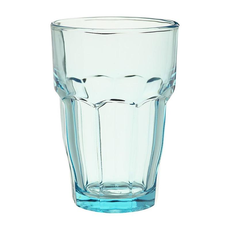 Glas rockbar - 37 cl - blauw