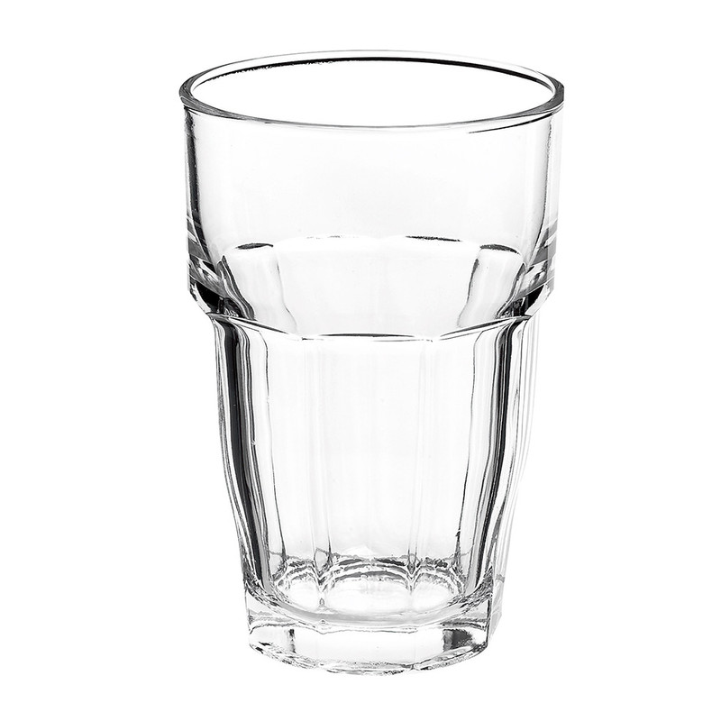 Glas rock bar - 37 cl - transparant