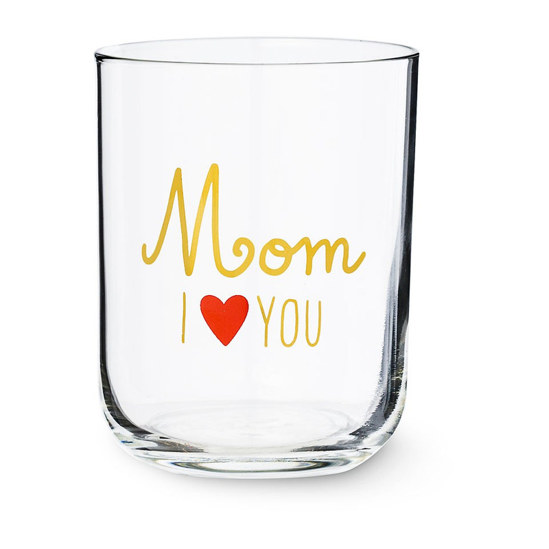 Glas Mom I Love You - 35 cl