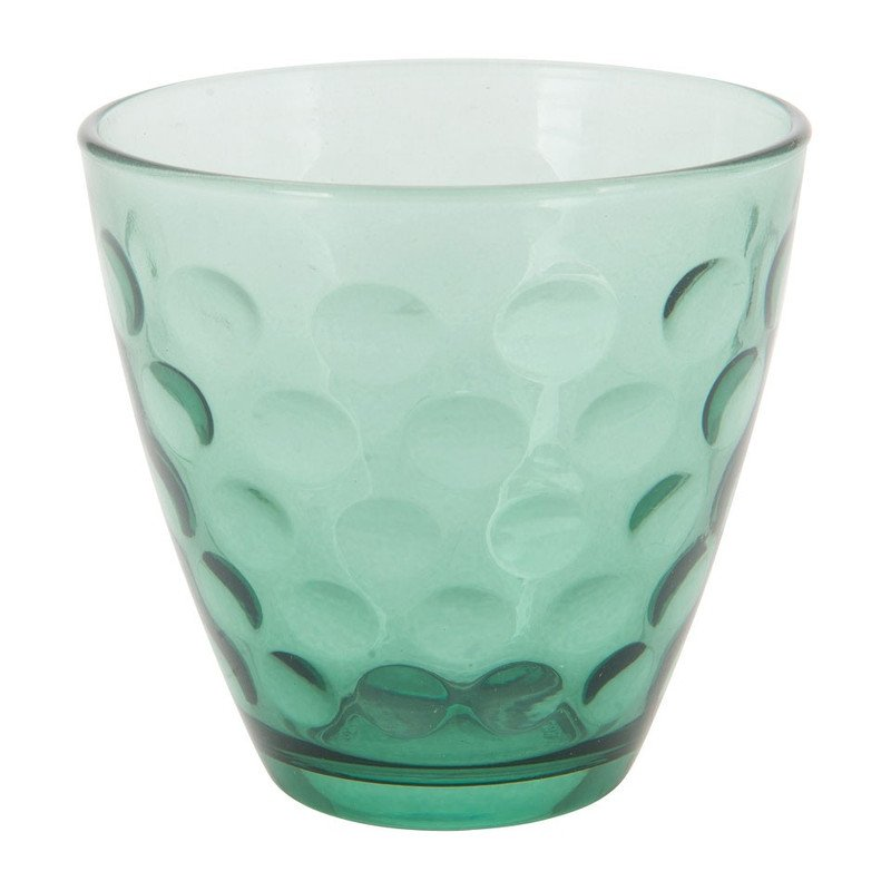 Waterglas Dots - groen - 25 cl