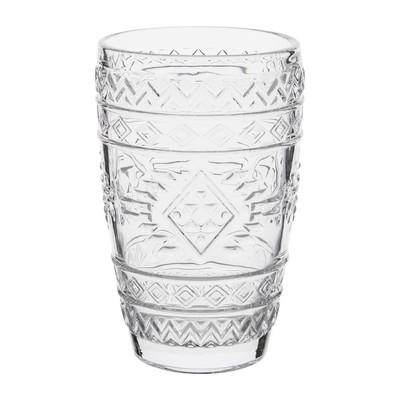 Longdrinkglas Etnisch reliëf - 38 cl