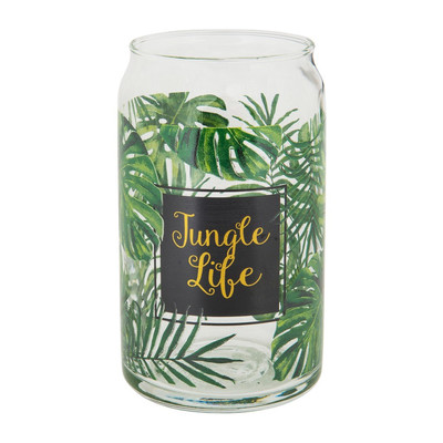 Glas can Jungle Life - 45 cl