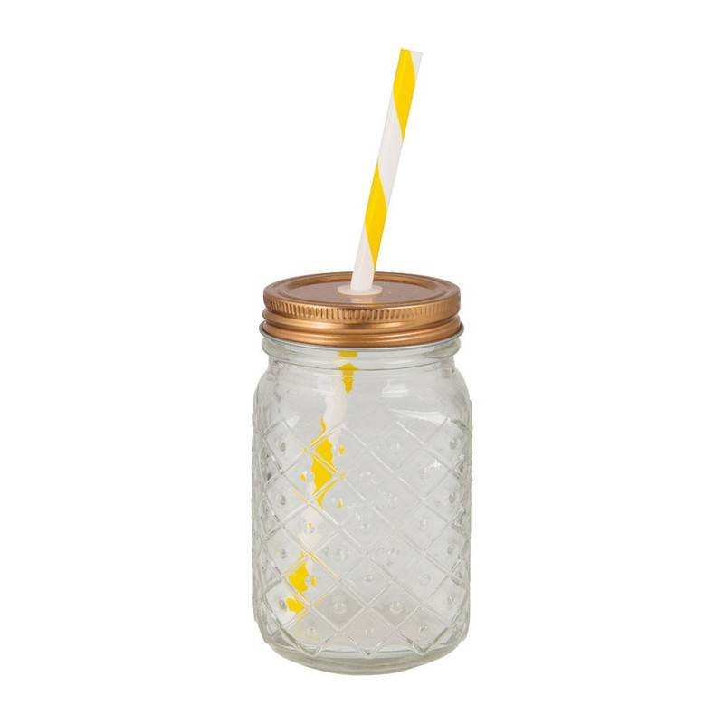 Mason jar ananas - 50 cl
