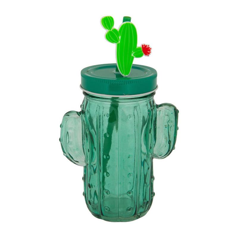 Mason jar cactus - 45 cl