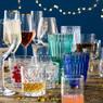 Wijnglas Yasmine - 20 cl - blauw