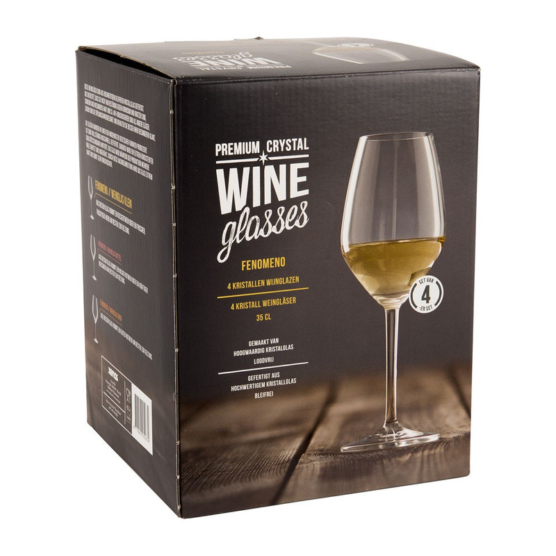 Wijnglas Fenomeno - 35 cl - set van 4