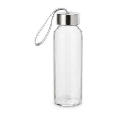 Glazen fles met rvs deksel - 30 cl
