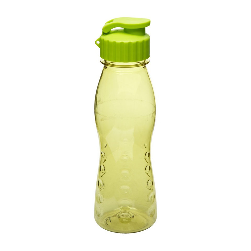Drinkfles flip top - 70 cl - groen