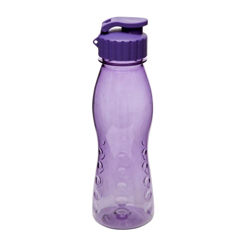 Drinkfles flip top - 70 cl - paars