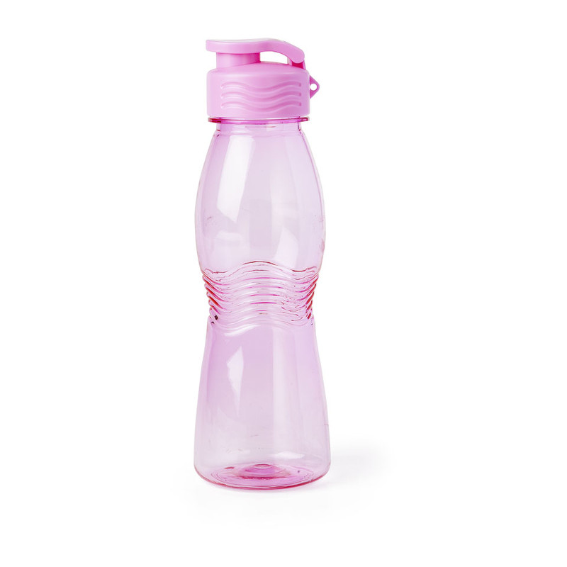 Drinkfles flip top - 55 cl - roze